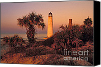 St George Canvas Prints - Cape Saint George Lighthouse 3 - FS000776 Canvas Print by Daniel Dempster
