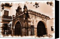 Puerto Rico Canvas Prints - Capilla del Cristo Canvas Print by Vilma Rohena