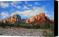 Sedona Canvas Prints - Capitol to Coffeepot Canvas Print by Gary Kaylor
