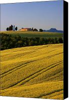 Rural Scenes Canvas Prints - Cappelle di Vitaleta Canvas Print by Brian Jannsen