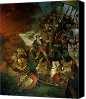 1842 Canvas Prints - Capture of Azov Canvas Print by Sir Robert Kerr Porter