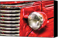 Hotrod Photo Canvas Prints - Car - Chevrolet Canvas Print by Mike Savad