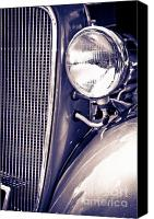 High Wheel Canvas Prints - Car no.1 Canvas Print by Niels Nielsen