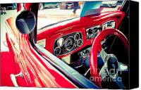 High Wheel Canvas Prints - Car no.4 Canvas Print by Niels Nielsen