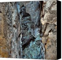 Cavern Canvas Prints - Carlsbad Cavern Detail Canvas Print by Stephen  Vecchiotti