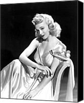 Publicity Shot Canvas Prints - Carole Landis, Paramount Pictures, Ca Canvas Print by Everett
