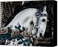 Roundabout Canvas Prints - Carousel Horse - 8 Canvas Print by Paul Ward