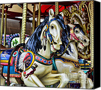 Roundabout Canvas Prints - Carousel Horse 2 Canvas Print by Paul Ward