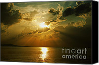 Deep Canvas Prints - Carpe Diem Canvas Print by Andrew Paranavitana