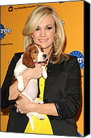 Appearance Canvas Prints - Carrie Underwood At A Public Appearance Canvas Print by Everett