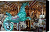 Carrousel Animals Canvas Prints - Carrousel 108 Canvas Print by Joyce StJames