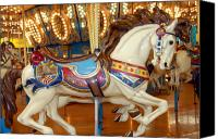 Carrousel Art Canvas Prints - Carrousel 19 Canvas Print by Joyce StJames
