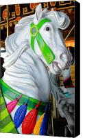 Carrousel Animals Canvas Prints - Carrousel 27 Canvas Print by Joyce StJames