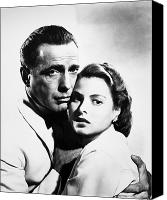 Embrace Canvas Prints - Casablanca, 1942 Canvas Print by Granger