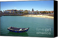 Pier Canvas Prints - Cascais Canvas Print by Carlos Caetano