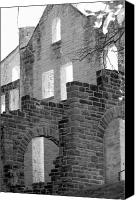 Ruins Canvas Prints - Castle 2 Canvas Print by Shawn Wood