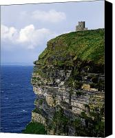 Doonagore Tower Canvas Prints - Castle On A Cliff, Obriens Tower Canvas Print by The Irish Image Collection