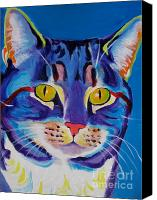 Pet Canvas Prints - Cat - Lady Spirit Canvas Print by Alicia VanNoy Call