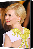 Academy Awards Oscars Canvas Prints - Cate Blanchett At Arrivals For The 83rd Canvas Print by Everett
