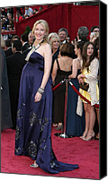 Academy Awards Oscars Canvas Prints - Cate Blanchett Wearing A Dries Van Canvas Print by Everett