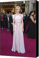 Academy Awards Oscars Canvas Prints - Cate Blanchett  Wearing A Givenchy Canvas Print by Everett