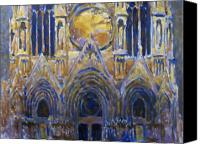 Valeriy Mavlo Canvas Prints - Cathedral 2 Canvas Print by Valeriy Mavlo