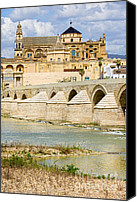 Great Mosque Canvas Prints - Cathedral Mosque in Cordoba Canvas Print by Artur Bogacki