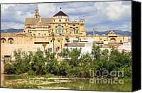 Great Mosque Canvas Prints - Cathedral Mosque of Cordoba Canvas Print by Artur Bogacki