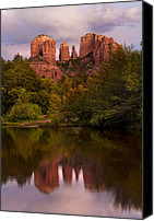 Grandkin Studios Photo Canvas Prints - Cathedral Rock Canvas Print by Jeffrey Campbell