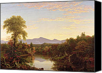 Cole Canvas Prints - Catskill Creek - New York Canvas Print by Thomas Cole