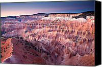 Alpine Canvas Prints - Cedar Breaks Twilight Canvas Print by Patrick Downey
