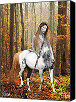 Nikki Marie Smith Canvas Prints - Centaur Series Autumn Walk Canvas Print by Nikki Marie Smith