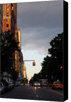 City Canvas Prints - Central Park West 7524 Canvas Print by PhotohogDesigns