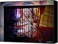 Misunderstanding Canvas Prints - Challenge Enigmatic Imprison Himself Canvas Print by Paulo Zerbato