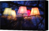 Chandelier Canvas Prints - Chandelier in the Trees Canvas Print by Peter  McIntosh