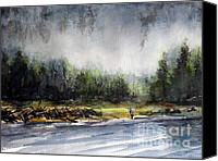 Flyfishing Canvas Prints - Changing Shift Canvas Print by Ronald Tseng