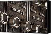 Amp Canvas Prints - Channel 2 Canvas Print by Scott Norris