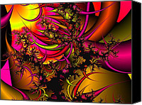 Chaos Theory Canvas Prints - Chaos Theory Canvas Print by Christy Hodgin