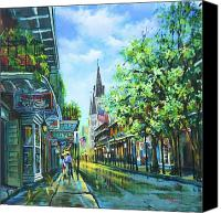 Cathedral Canvas Prints - Chartres Afternoon Canvas Print by Dianne Parks