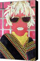 Diane Fine Canvas Prints - Cheap Sunglasses Canvas Print by Diane Fine