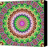 Psychedelic Canvas Prints - Cheerios-C Canvas Print by Ron Brown