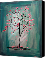 Lynsie Petig Canvas Prints - Cherry Blossom Canvas Print by Lynsie Petig