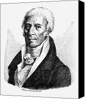 Chevalier Canvas Prints - Chevalier De Lamarck Canvas Print by Granger