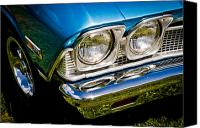 Phil Motography Clark Canvas Prints - Chevelle Lights Canvas Print by Phil
