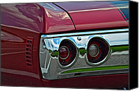 Custom Buick Canvas Prints - Chevelle Canvas Print by Robert Harmon