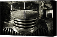 Old Trucks Canvas Prints - Chevrolet Dreams Canvas Print by Josef Tornick