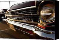Custom Grill Canvas Prints - Chevy Nova SS Canvas Print by Cale Best