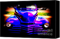 Auction Canvas Prints - Chevy Reborn Canvas Print by Susanne Van Hulst
