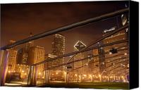 Concert Canvas Prints - Chicago at night Canvas Print by Andreas Freund