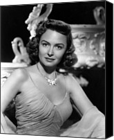 1949 Movies Canvas Prints - Chicago Deadline, Donna Reed, 1949 Canvas Print by Everett